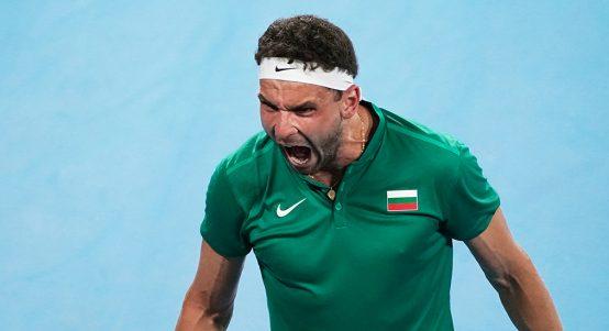 Grigor Dimitrov at ATP Cup