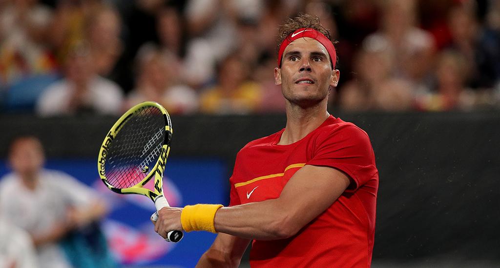 Rafael Nadal at ATP Cup