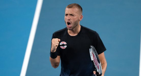 Dan Evans delighted