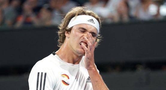 Alexander Zverev disappointed