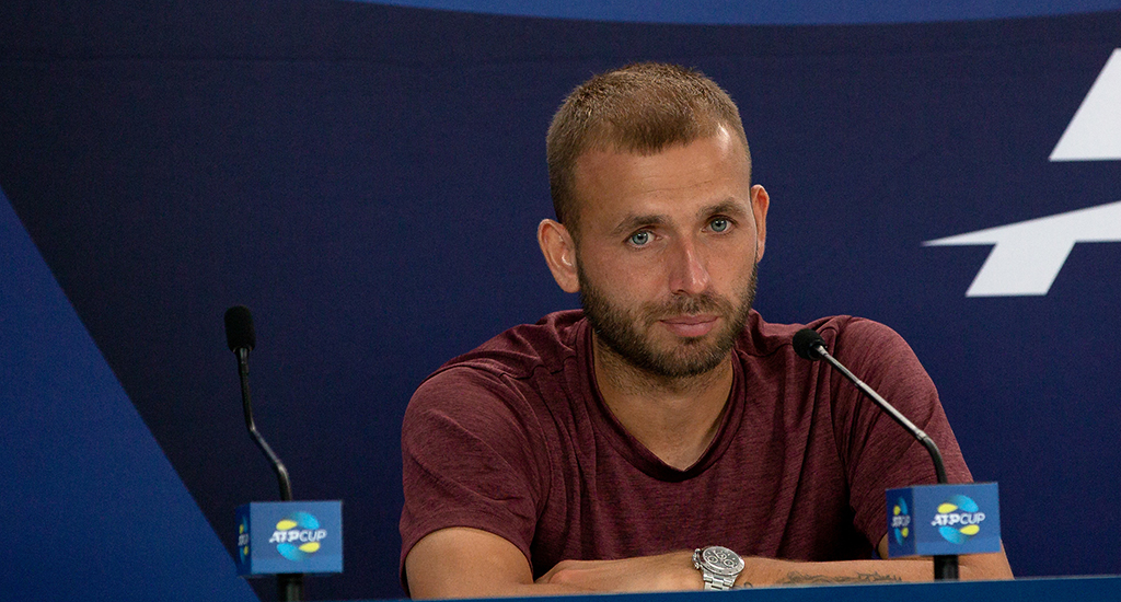 Dan Evans disappointed