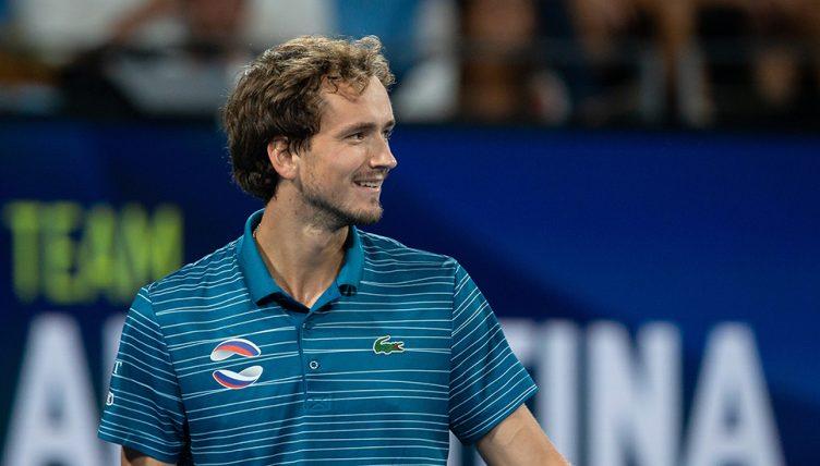 Daniil Medvedev at ATP Cup