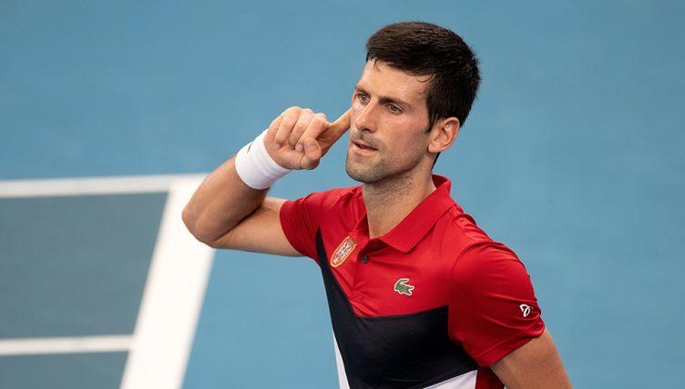 Novak Djokovic And Rafael Nadal Haul Serbia And Spain Into Atp Cup Semis Tennis365 Com
