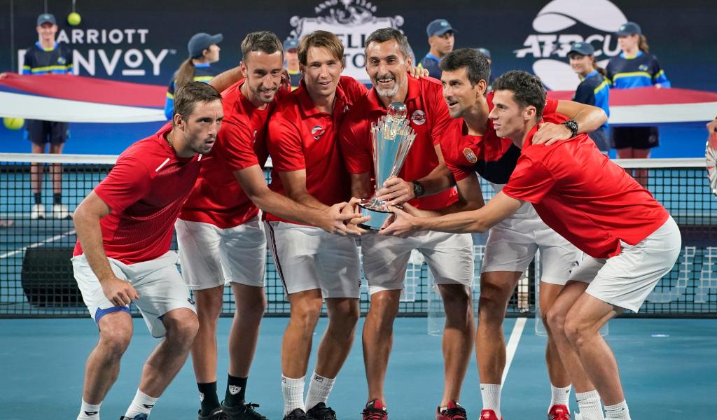 Serbia ATP Cup winners
