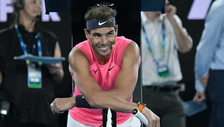 Rafael Nadal at Rally for Relief