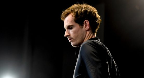 Andy Murray a little downcast