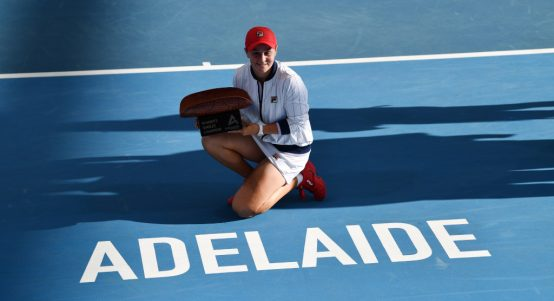 Ashleigh Barty Adelaide International champion