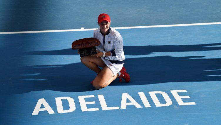 Ashleigh Barty Adelaide International champion