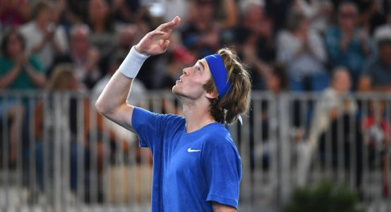 Andrey Rublev delighted