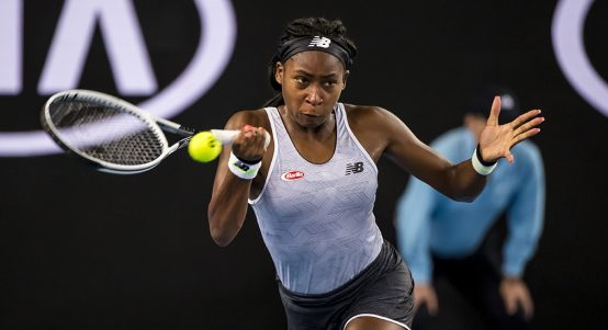 Coco Gauff at Australian Open