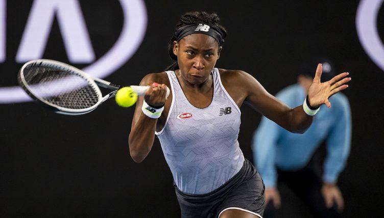 Coco Gauff at Australian Open