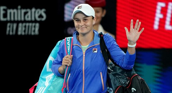 Ashleigh Barty at Australian Open