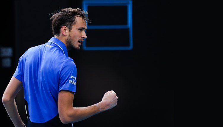 Daniil Medvedev at Australian Open