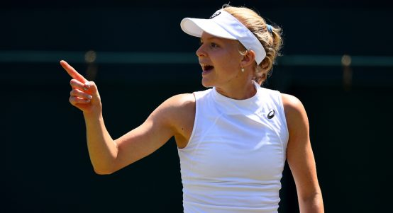 Harriet Dart with that winning feeling