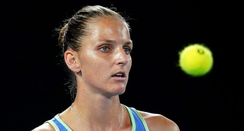 Karolina Pliskova at Australian Open