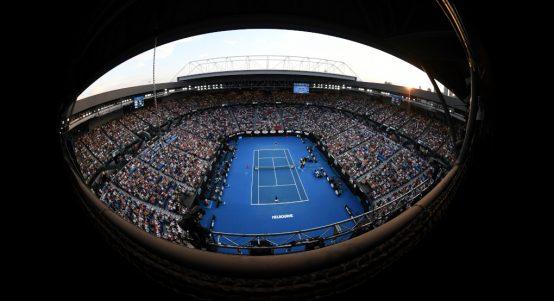 Rod Laver Arena Melbourne Park Australian Open