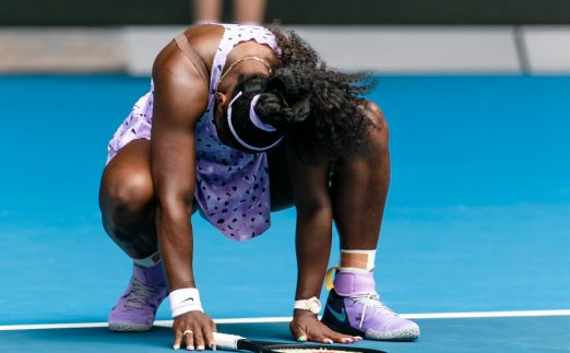 Serena Williams feeling the pressure