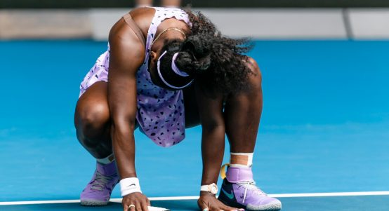 Serena Williams feeling the pressure