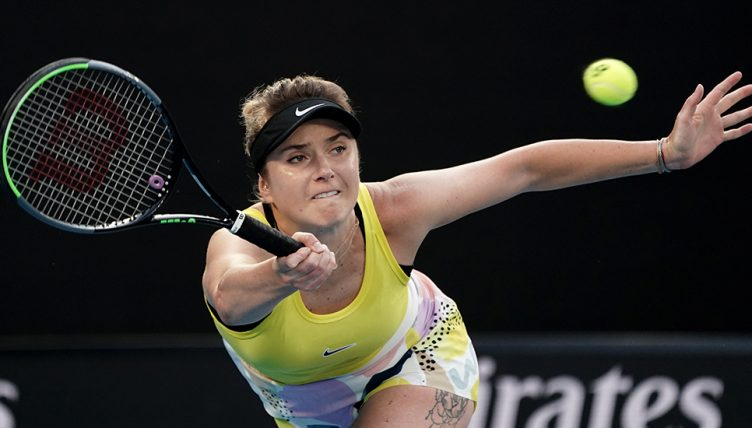 Elina Svitolina at Australian Open