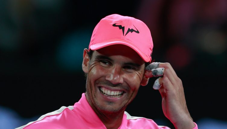 Rafael Nadal joking