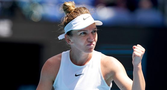 Simona Halep at Australian Open