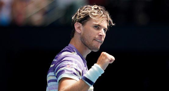 Dominic Thiem at Australian Open