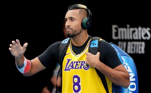 Nick Kyrgios pays tribute to Kobe Bryant