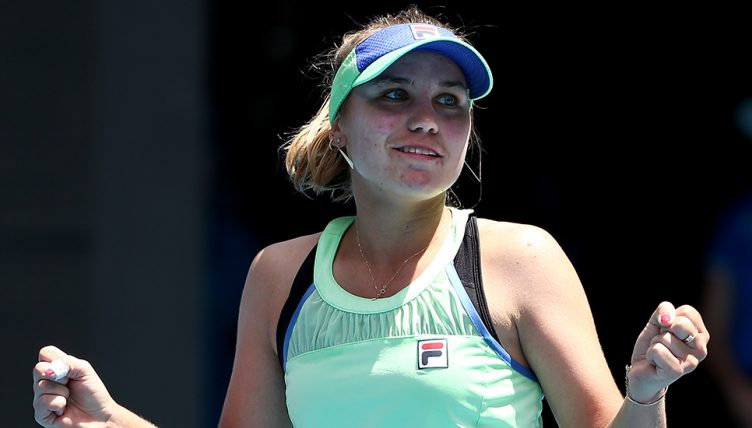 Sofia Kenin at Australian Open
