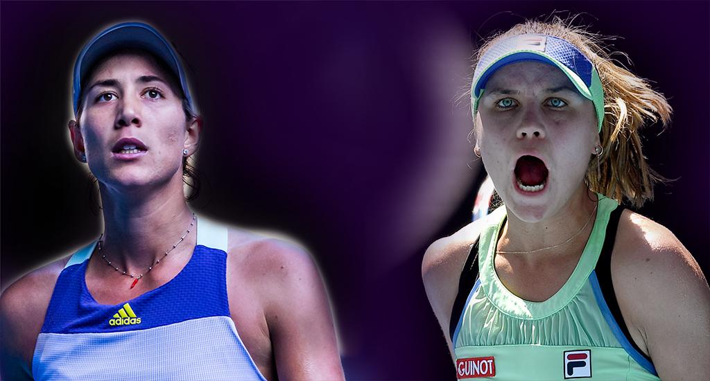 Muguruza Kenin Australian Open final