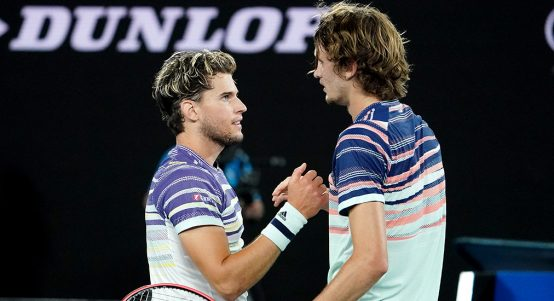 Dominc Thiem ready for Novak Djokovic says Alexander Zverev
