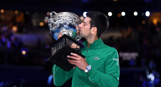 Novak Djokovic 2020 Australian Open champion