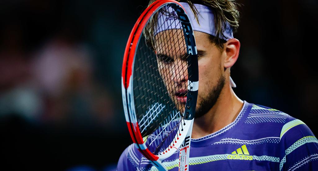 Dominic Thiem in Australian Open final