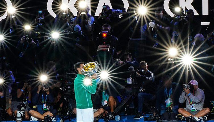 Novak Djokovic stars Australian Open