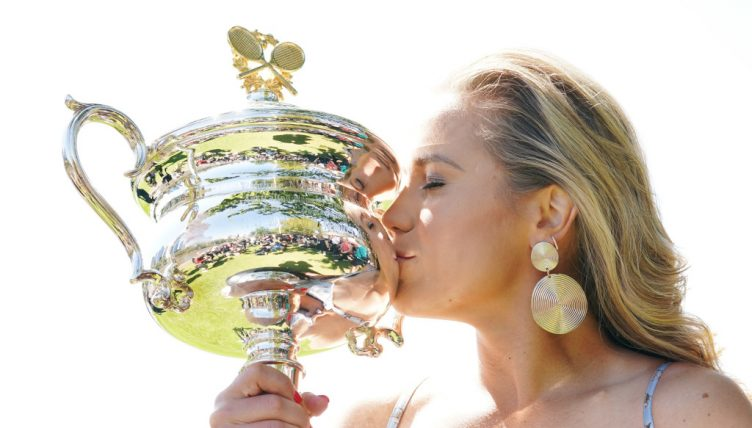 Sofia Kenin 2020 Australian Open champion