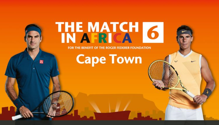 The Match in Africa Cape Town Roger Federer and Rafael Nadal