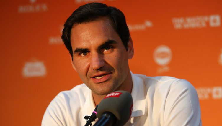 Roger Federer Match in Africa in Cape Town