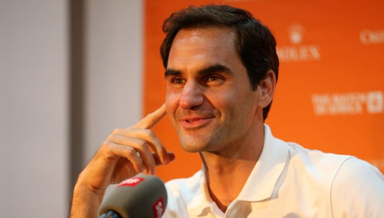 Roger Federer Match in Africa Cape Town press conference