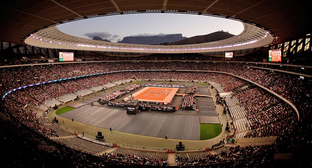 Roger Federer Rafael Nadal Match in Africa