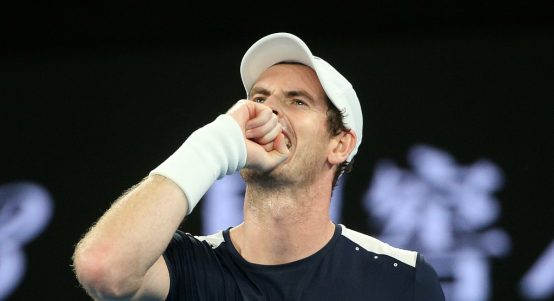 Andy Murray feeling frustrated