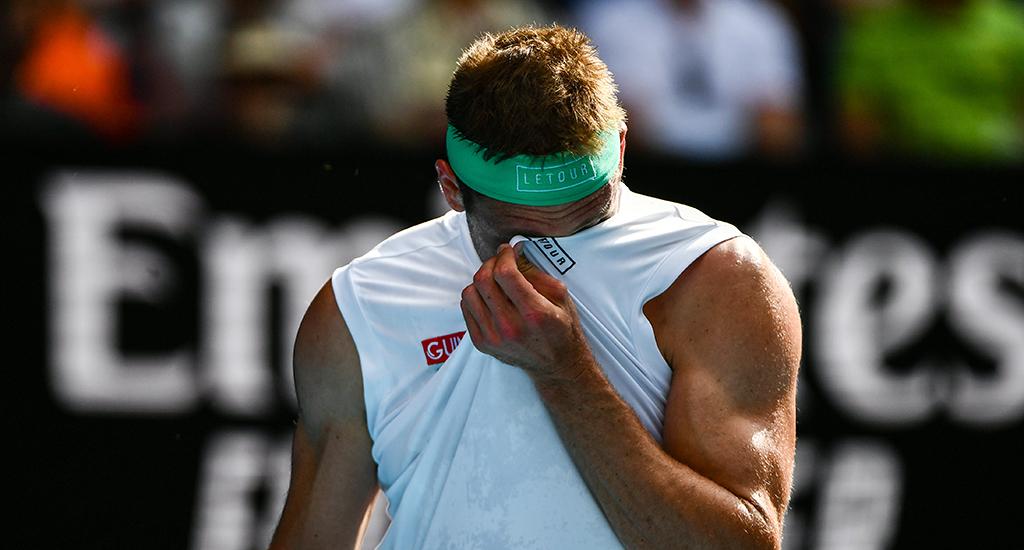 Tennys Sandgren after Roger Federer defeat