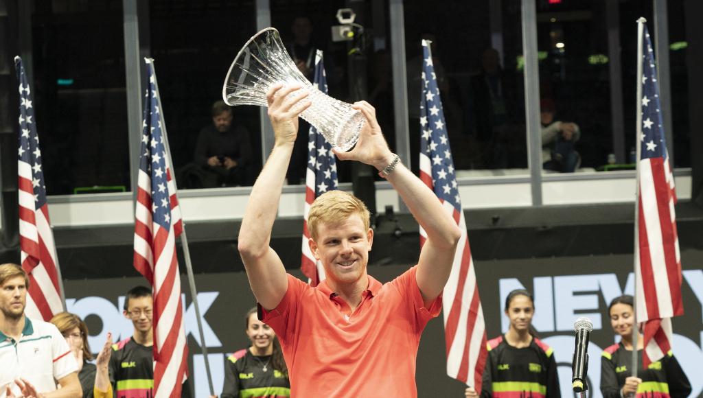 Kyle Edmund wins New York Open