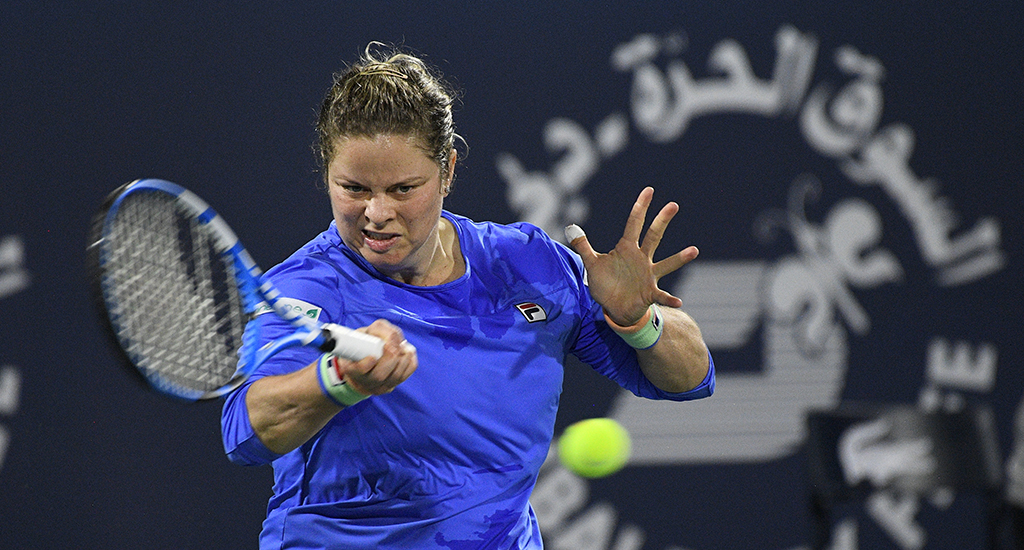 Kim Clijsters forehand