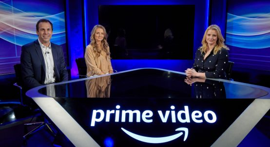 Amazon Prime Video Greg Rusedski, Daniela Hantuchova, Catherine Whitaker