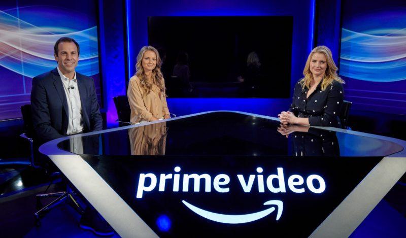 Amazon Prime Video Greg Rusedski, Daniela Hantuchova, Catherine Whitaker