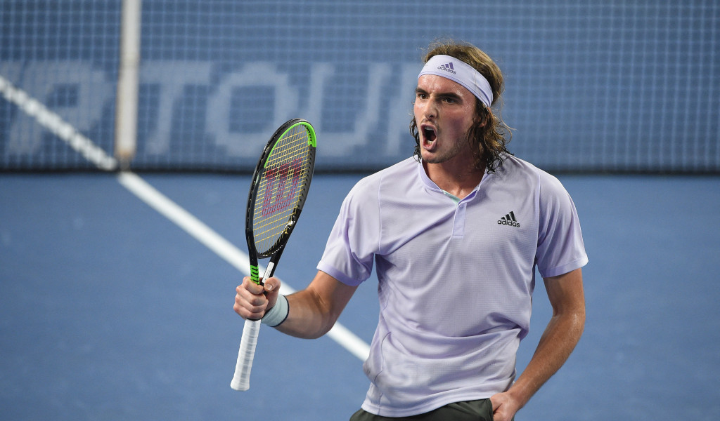 Aggressive Stefanos Tsitsipas Hails His Fighting Spirit After Sailing Past Kevin Anderson Tennis365 Com