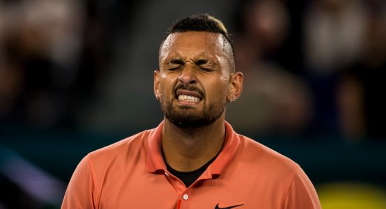 Nick Kyrgios being Nick Kyrgios