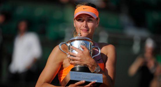 Maria Sharapova Roland Garros winner