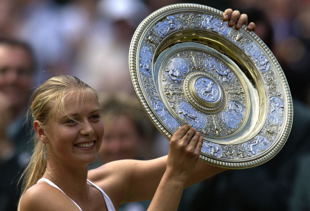 Maria Sharapova Wimbledon title