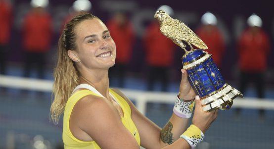 Aryna Sabalenka wins Qatar Open
