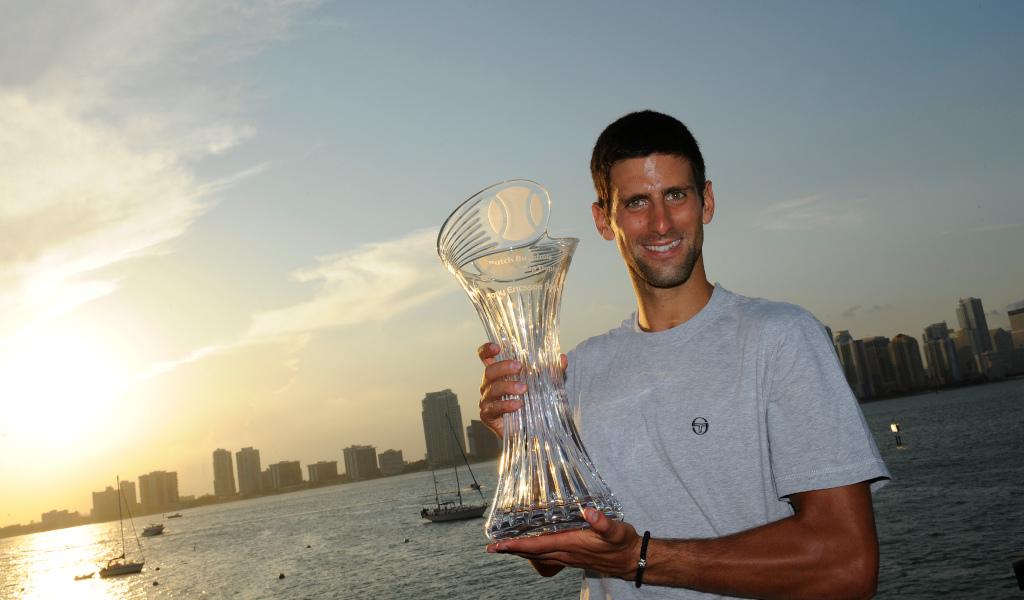 Novak Djokovic 2011 Miami Open